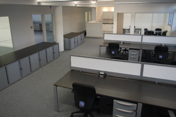 A new laboratory and offices in Cambridge