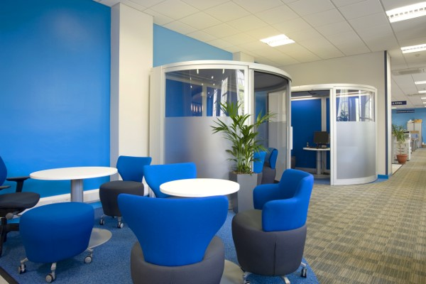 4 ways to use colour in your office refurbishment