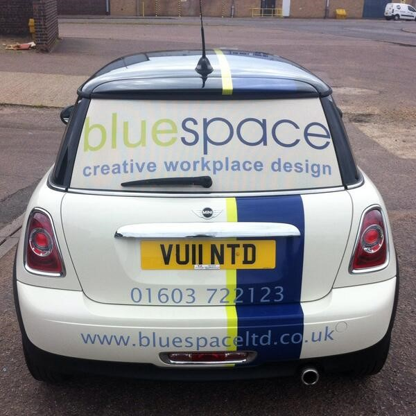 bluespace new car