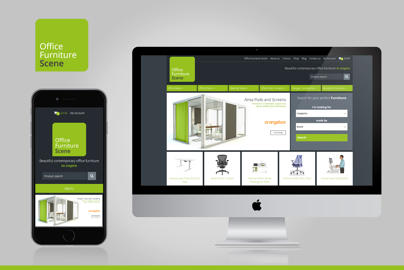 Office Furniture Scene is now responsive