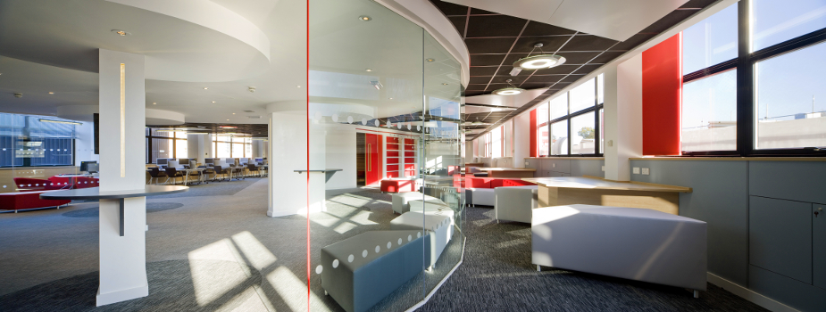 city college norwich office design