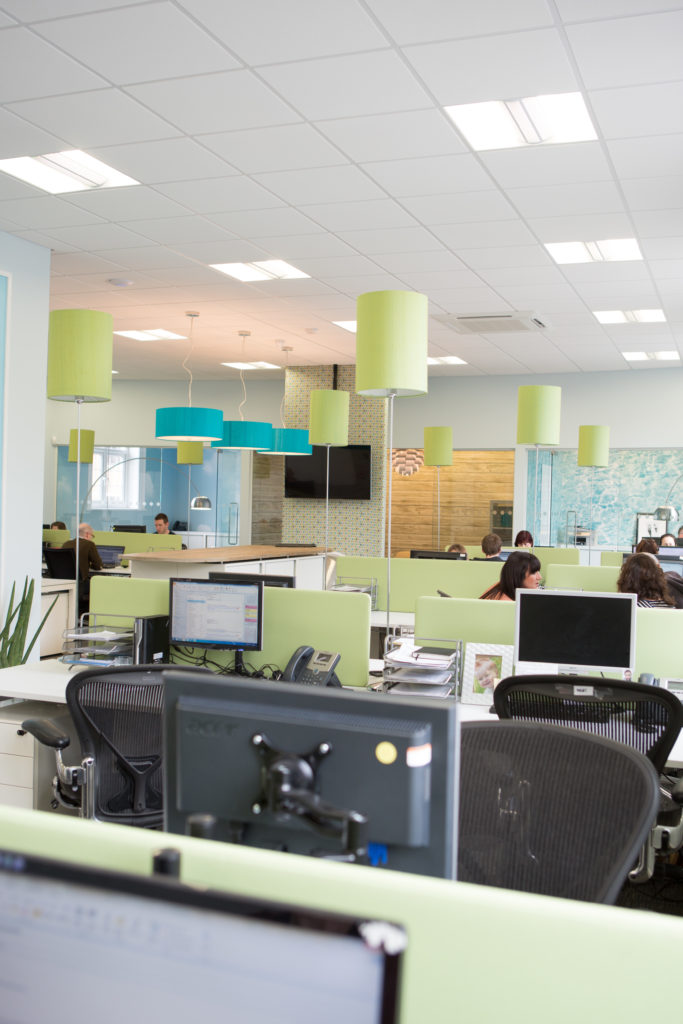 liftshare open plan office design
