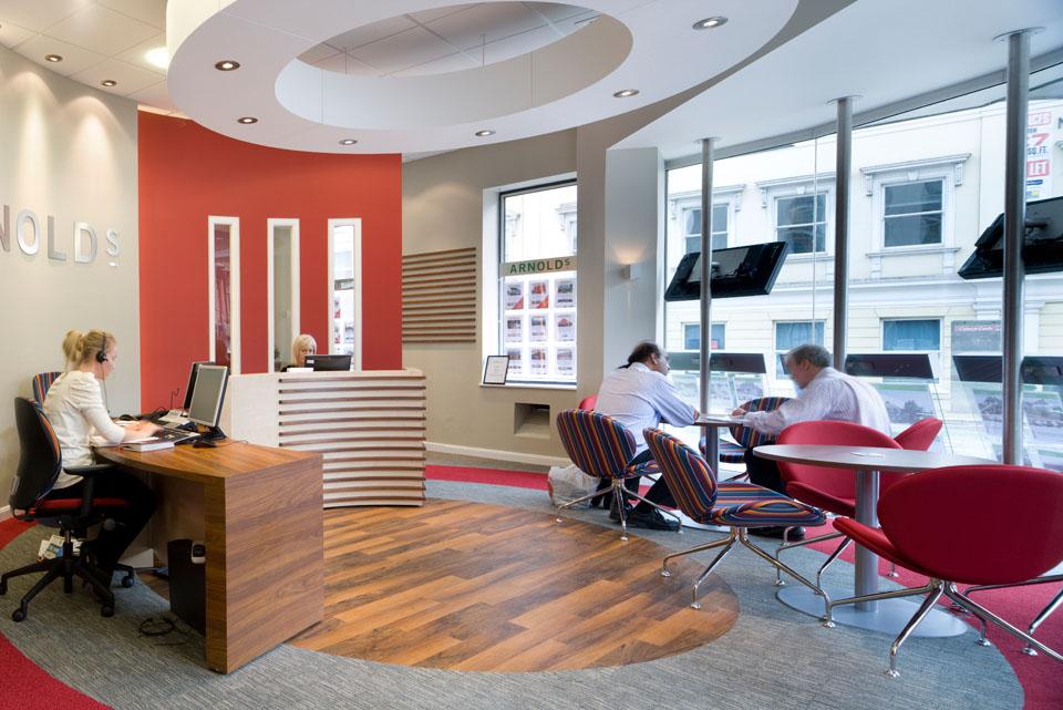 office reception refurbishment