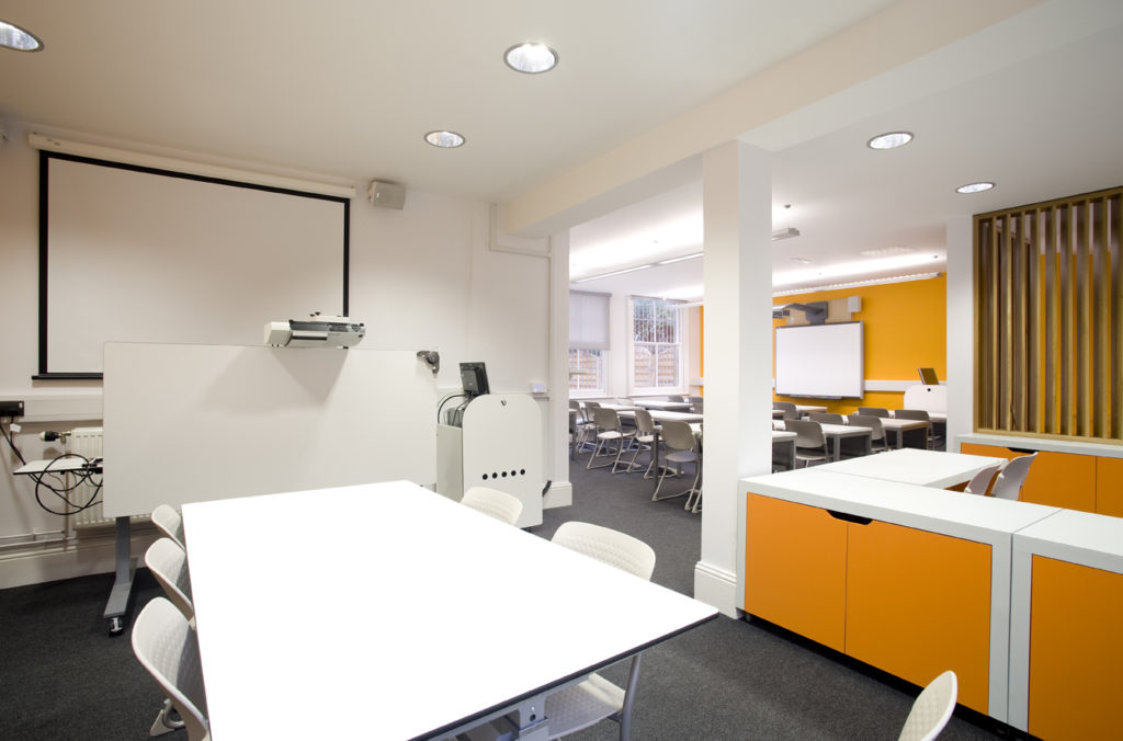 discussion room fit out