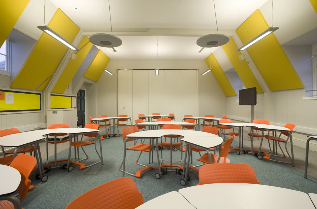 bluespace class room fit out