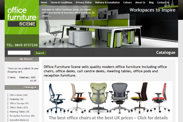 Office Furniture Scene Launch