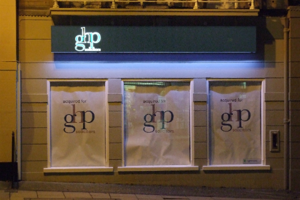 a new signage for GHP 3