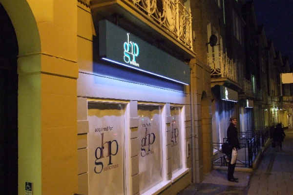 a new signage for GHP