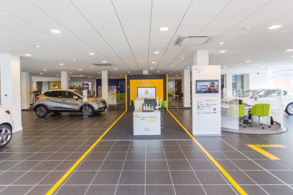 Holden Showroom Fit Out