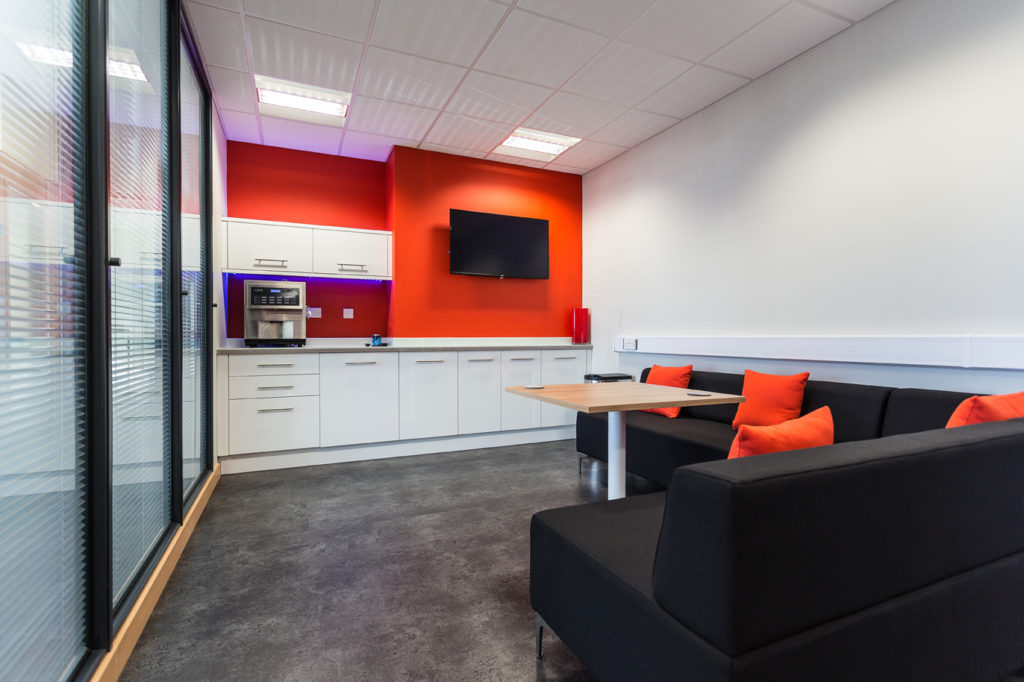 CHC office design by Bluespace