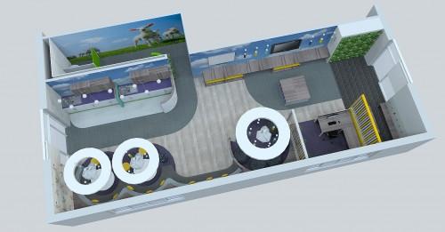 Conceptual office design by Bluespace