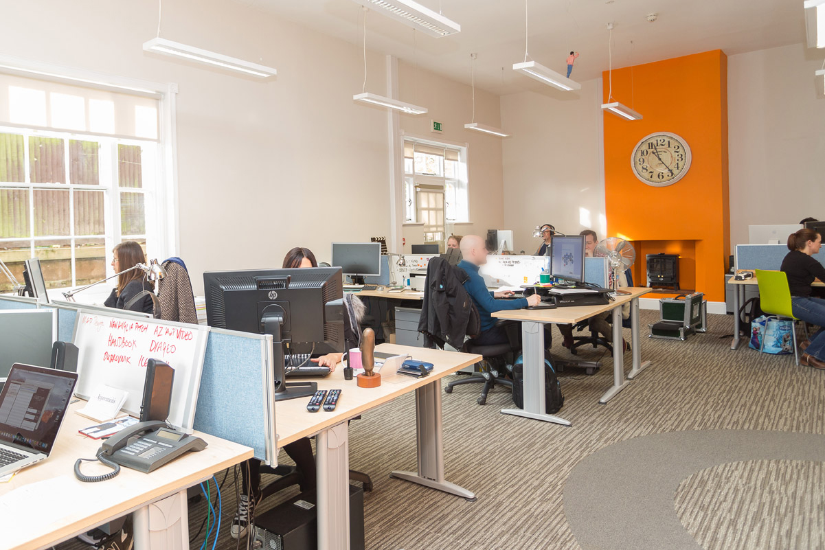 Production bureau office design norfolk for Office design productivity research