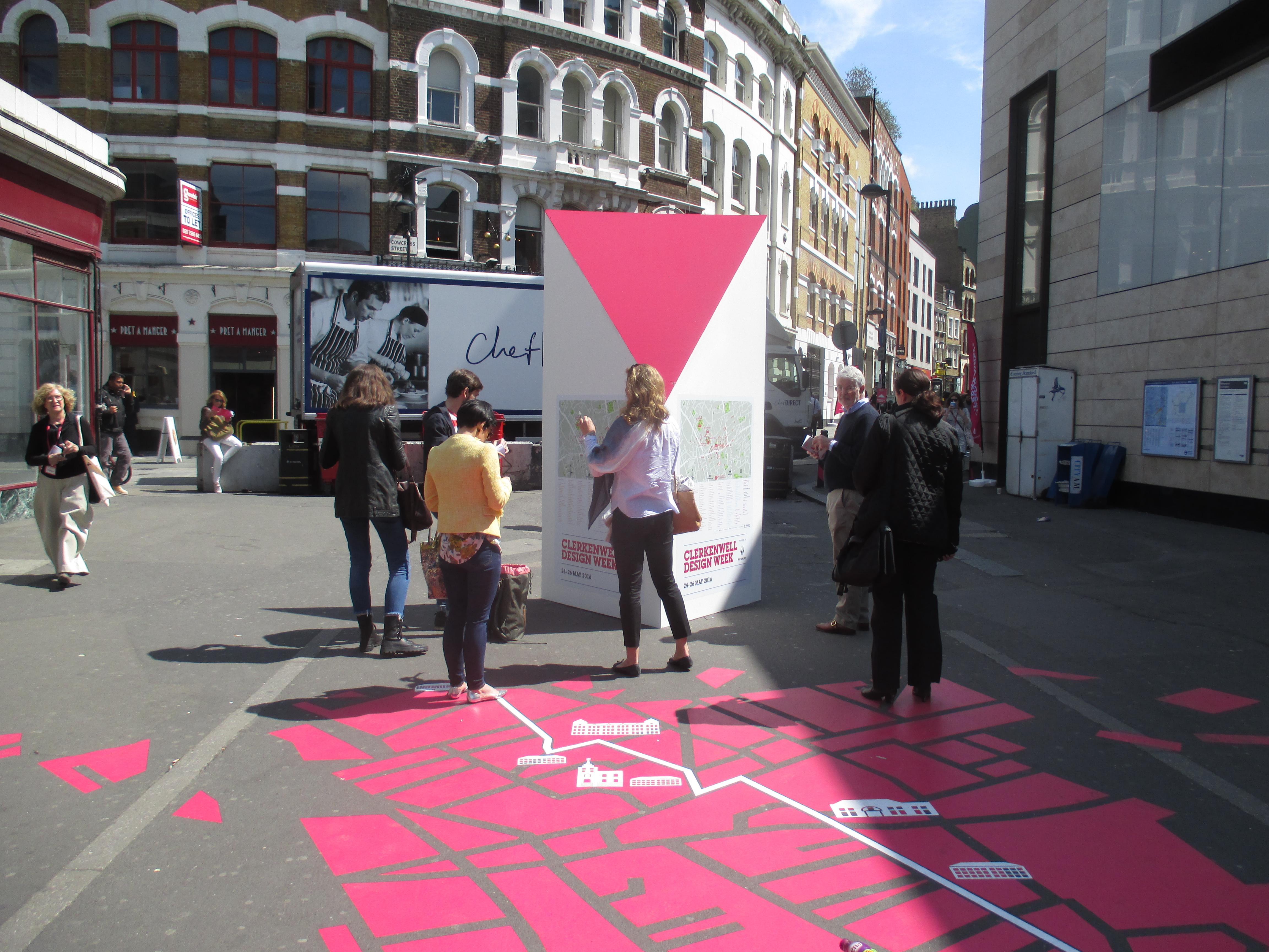 Office Designers Norfolk at Clerkenwell Design Week 2016