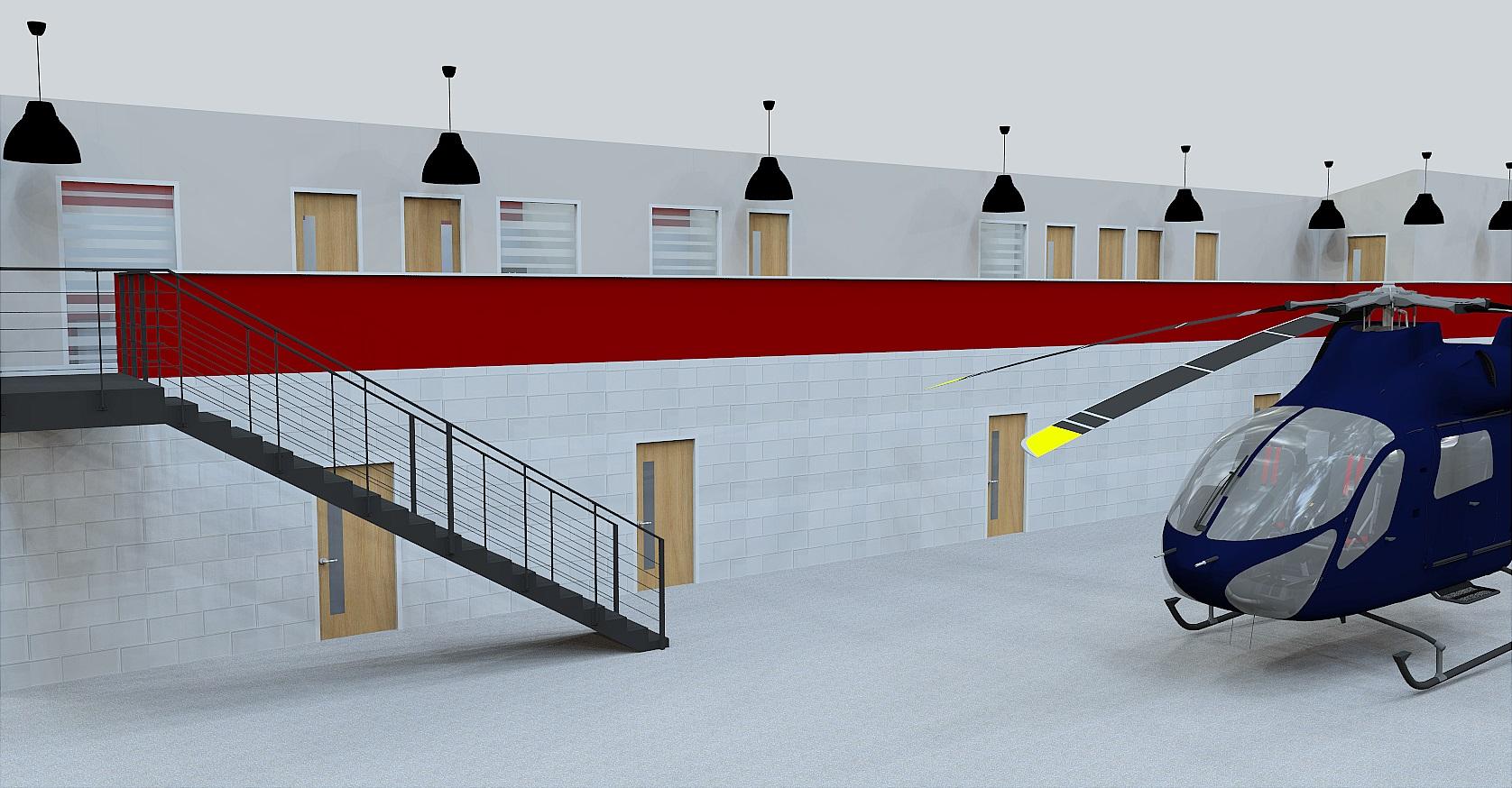 hanger office refurbishment norfolk