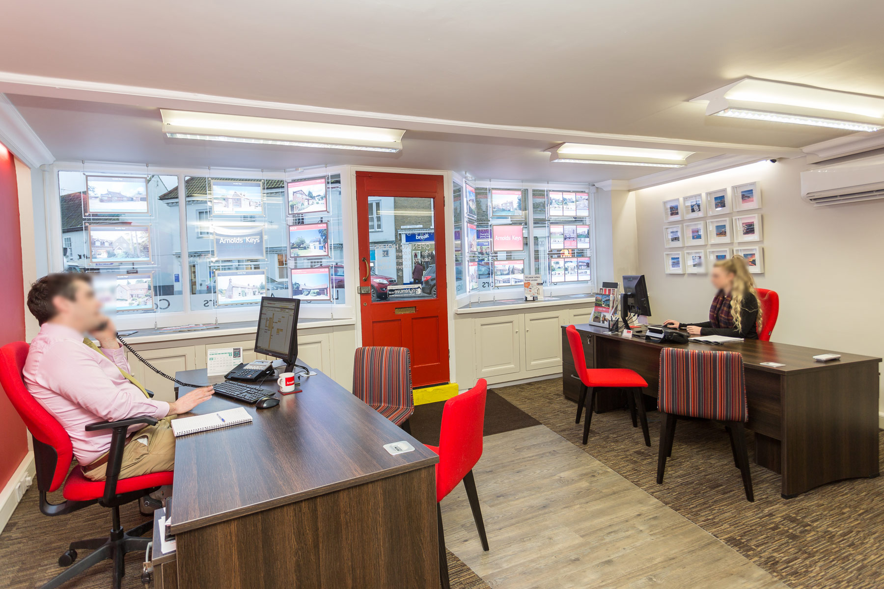 arnolds holt reception fit out