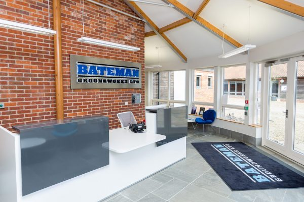 Bateman Groundworks' New HQ