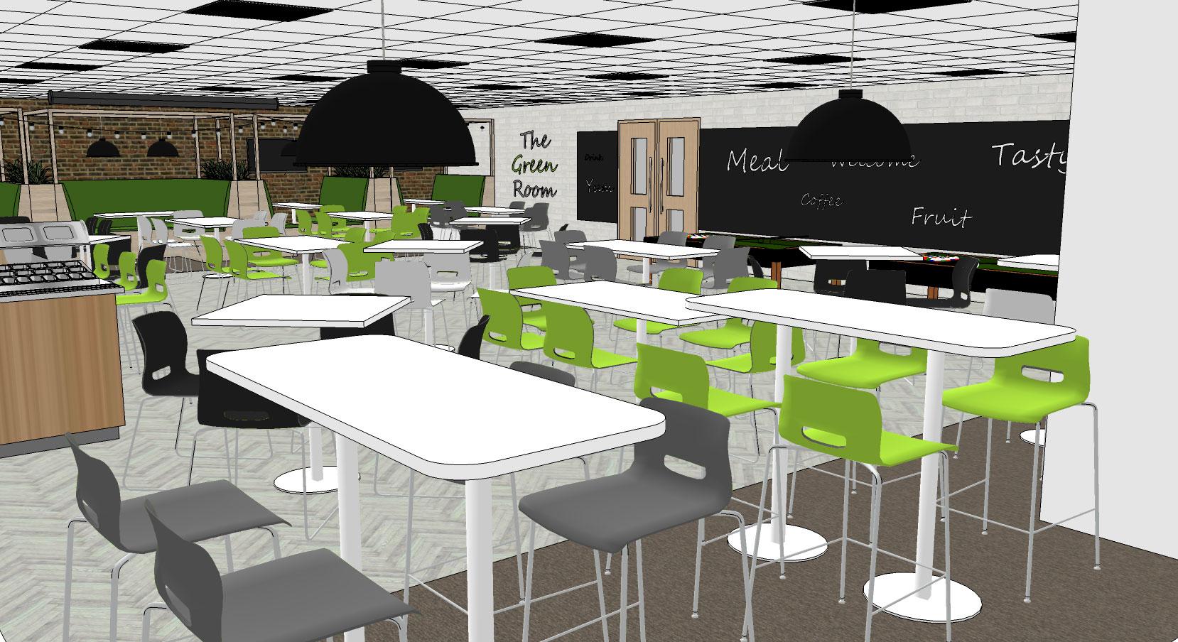 canteen space design suffolk