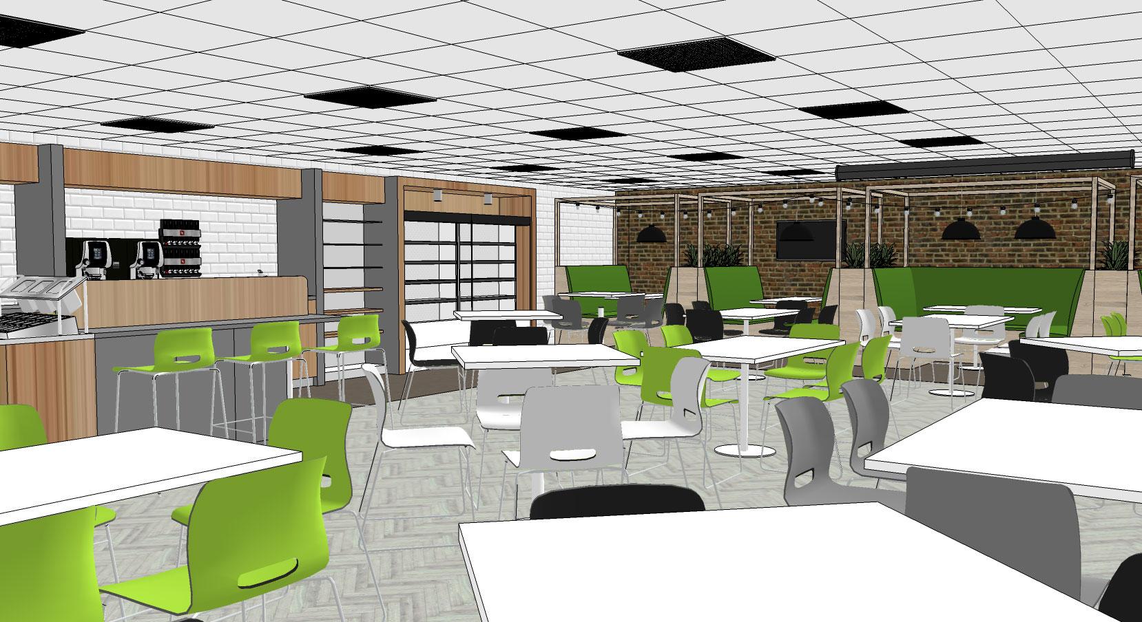 office canteen design