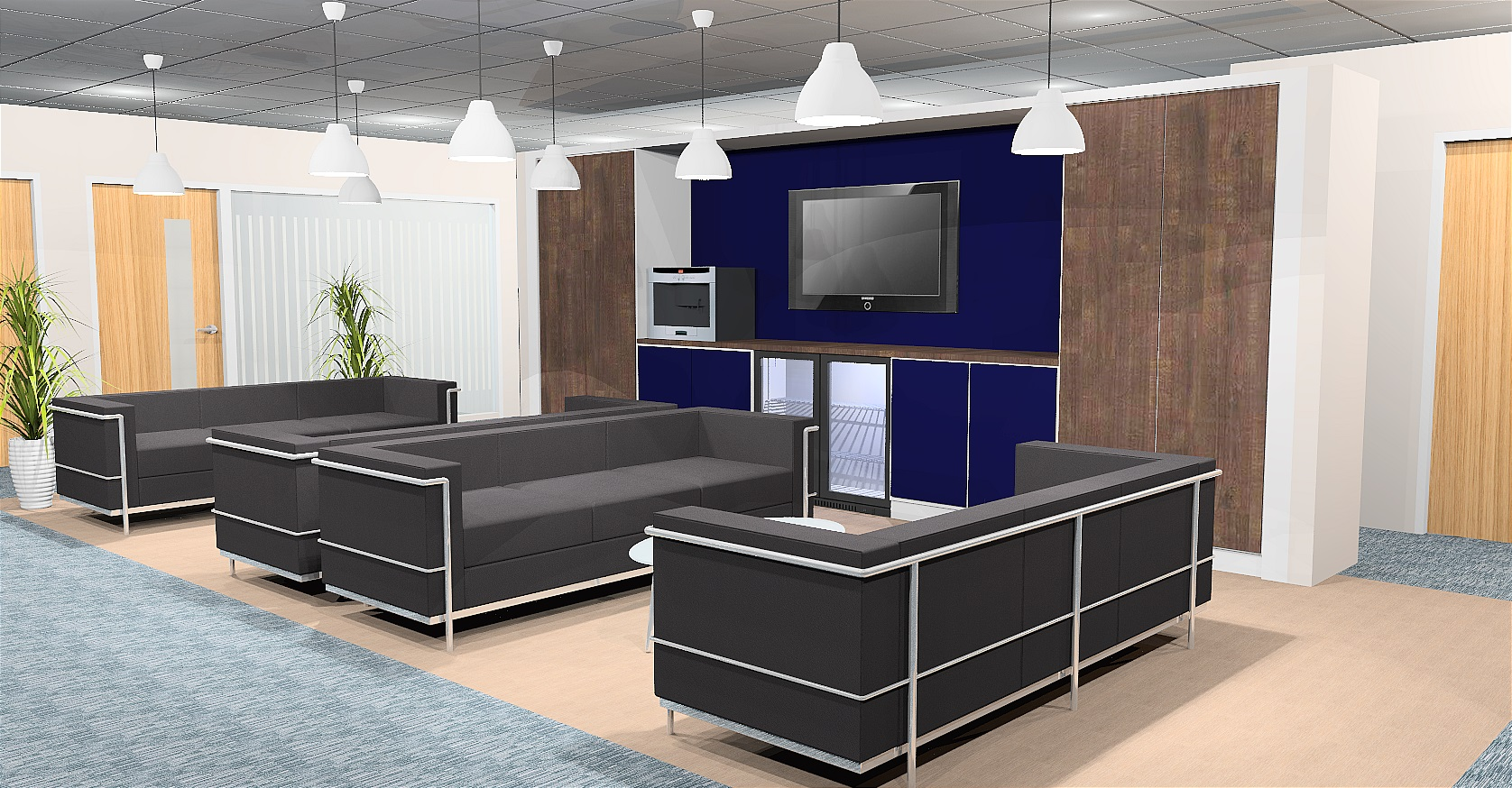Continental Breakout Space Design