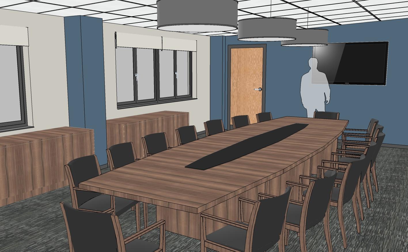 Anglia Farmers Boardroom Design Visual