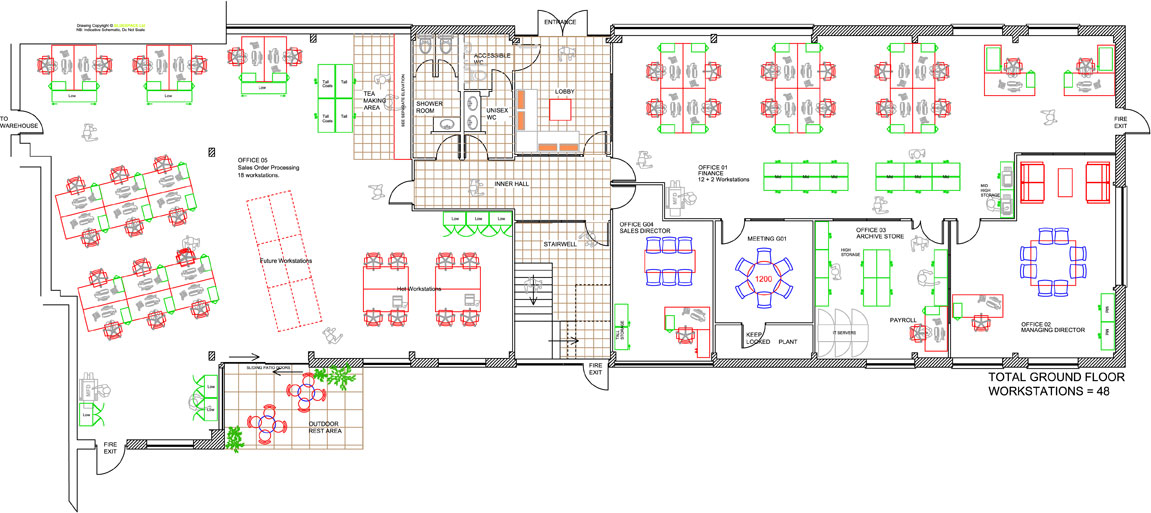 Office Design & Space Planning - Office Solutions - Span |Space Planning Office Layout