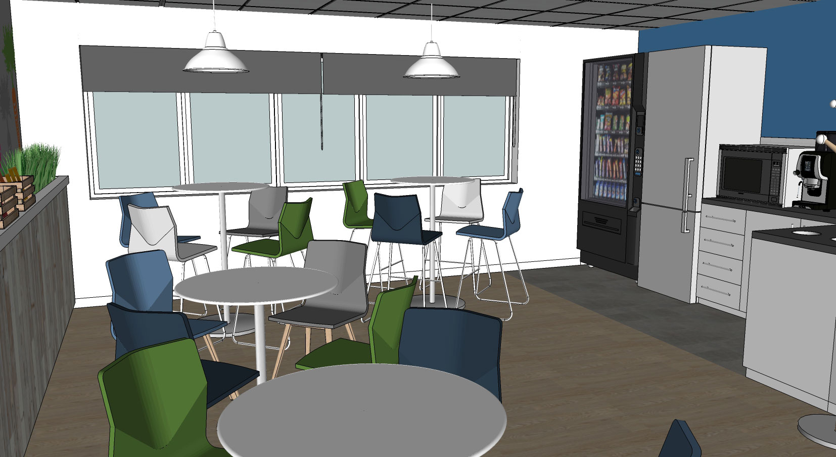 office canteen. Kettle-Office-Canteen-Design-04 Office Canteen
