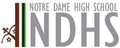 Notre Dame High School logo