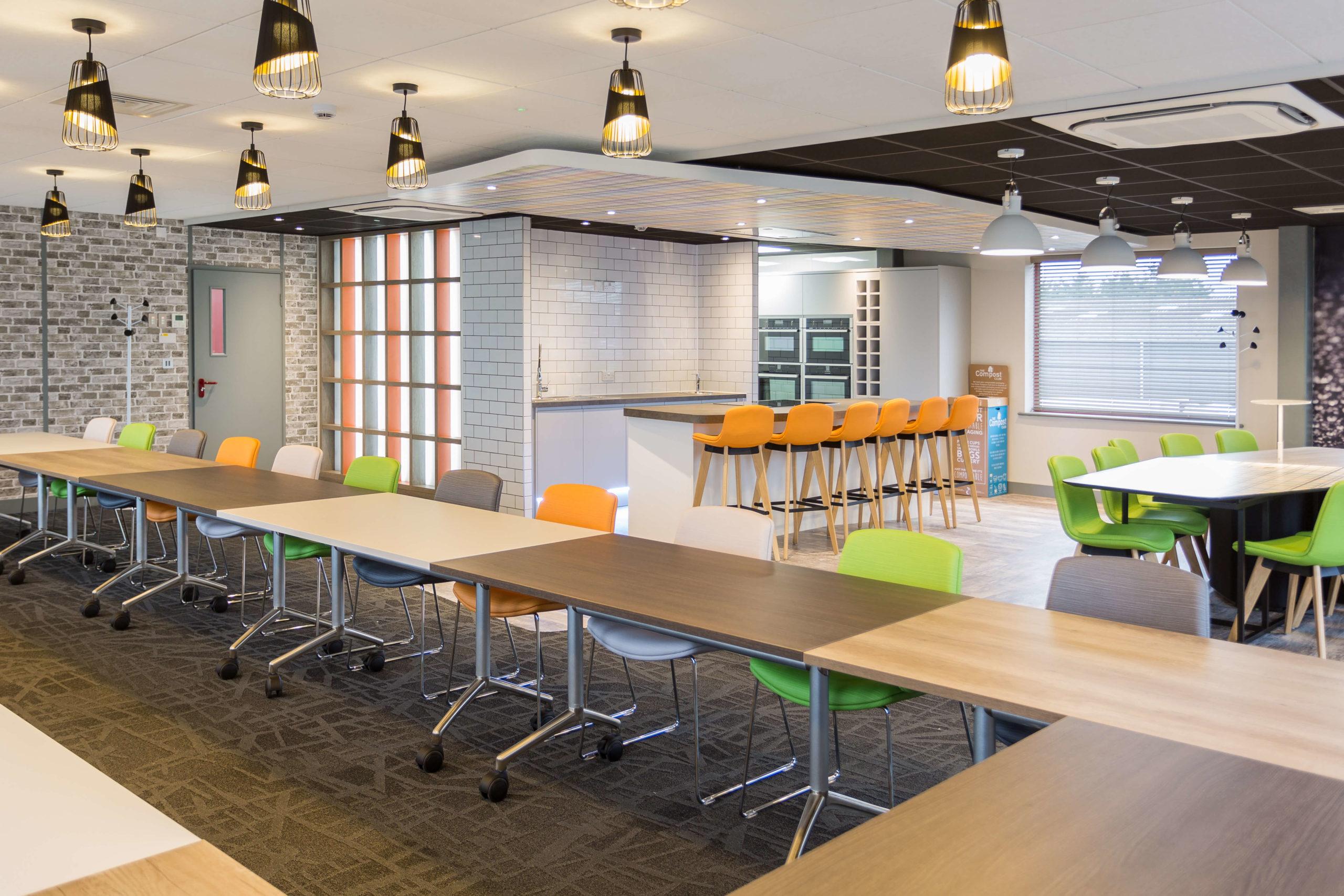 Modern Commercial Breakoutspace Design