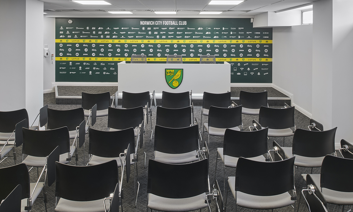 press lounge design for NCFC